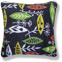 black and white abstract vintage cushion 470