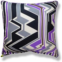 purple abstract vintage cushion 706