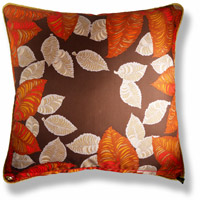 red abstract vintage cushion 771