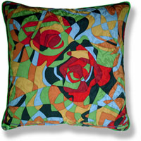abstract vintage cushion 811