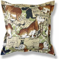 animal vintage cushion 536
