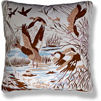 cyan animal vintage cushion 824