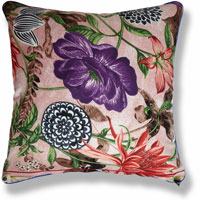 pink animal floral vintage cushion 846
