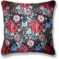 green abstract vintage cushion 913