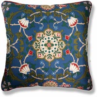 floral vintage cushion 405 Back