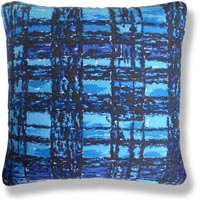 blue retro vintage cushion 782
