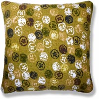 green retro vintage cushion 899