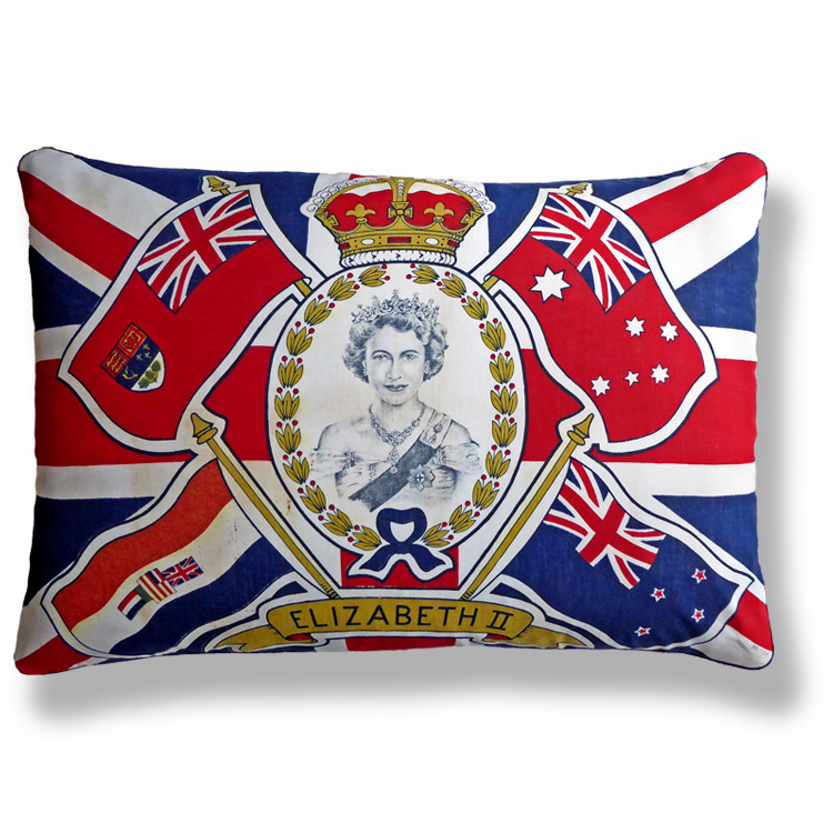 blue royal vintage cushion 768