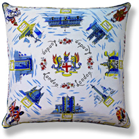 cyan royal vintage cushion 448
