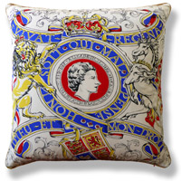 blue royal vintage cushion 516