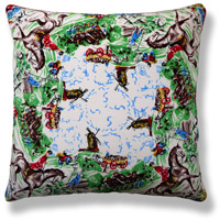 green royal vintage cushion 518
