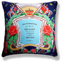 cyan royal vintage cushion 624