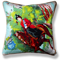 green royal vintage cushion 711