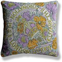 yellow royal vintage cushion 723