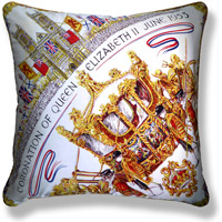 yellow royal vintage cushion 749