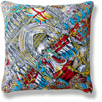 cyan royal vintage cushion 764