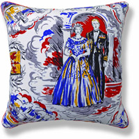 blue royal vintage cushion 767