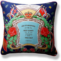 cyan royal vintage cushion 827