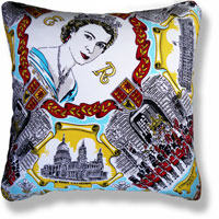 cyan royal vintage cushion 835