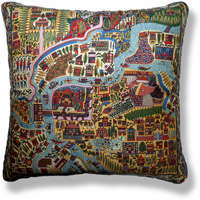 cyan travel vintage cushion 704
