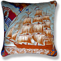cyan travel vintage cushion 740