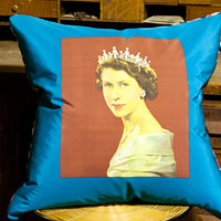purple travel vintage cushion 737